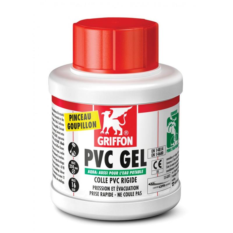 Pot de colle Gel Aqua Griffon pour PVC