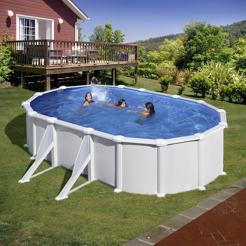 Piscine hors sol ovale gre mod le atlantis for Piscine or