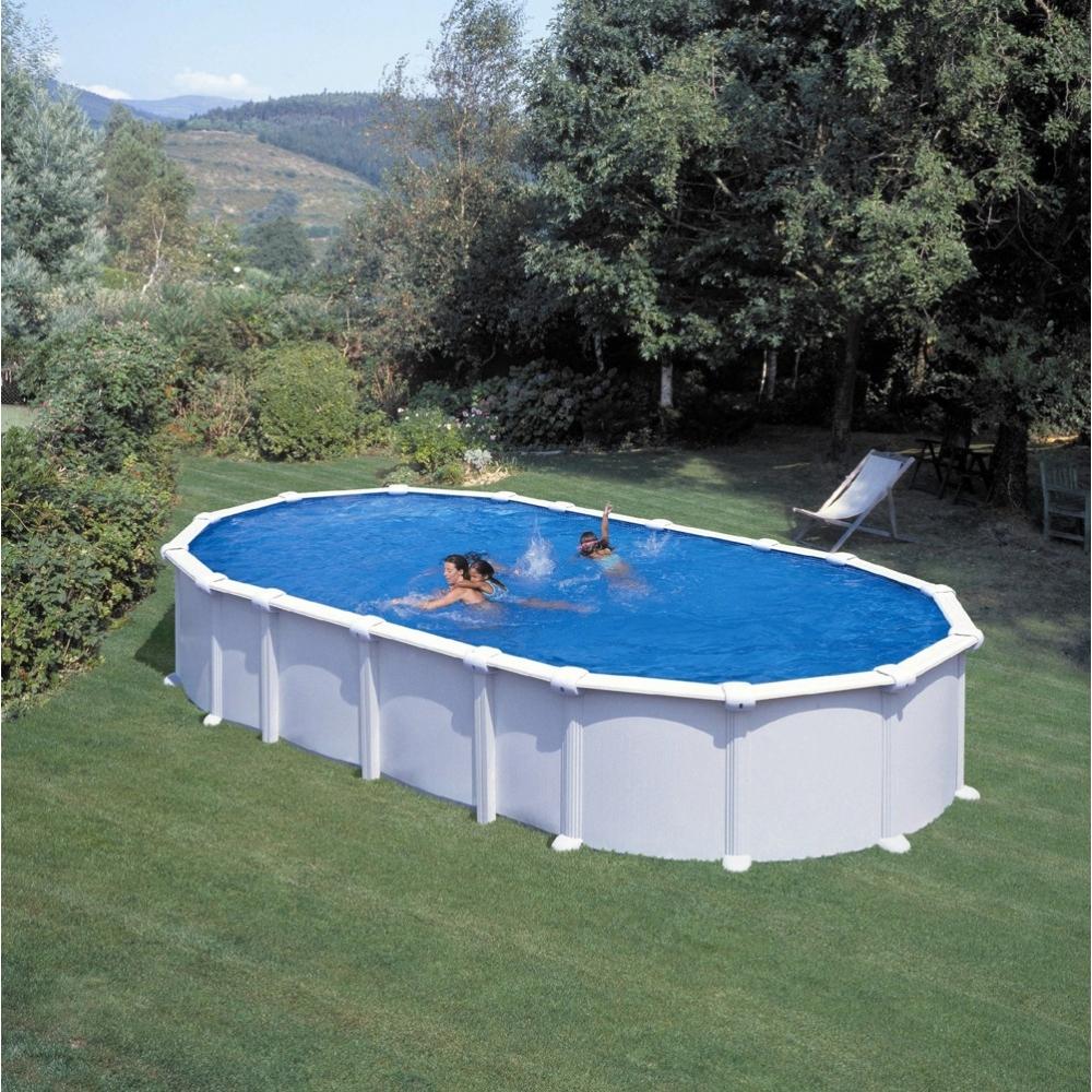Piscine hors sol ovale gre mod le haiti for Modele piscine