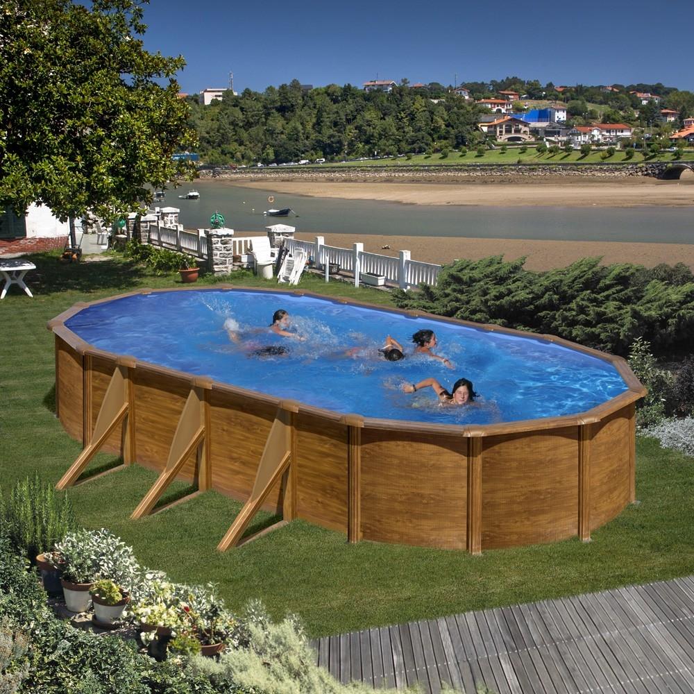 Piscine hors sol ovale gr mod le pacific - Gre piscine hors sol ...