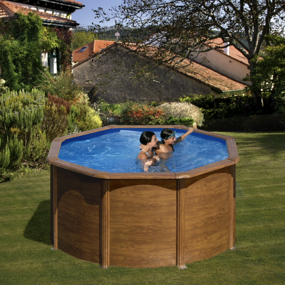 Piscine hors sol ronde gr mod le pacific for Piscine destock