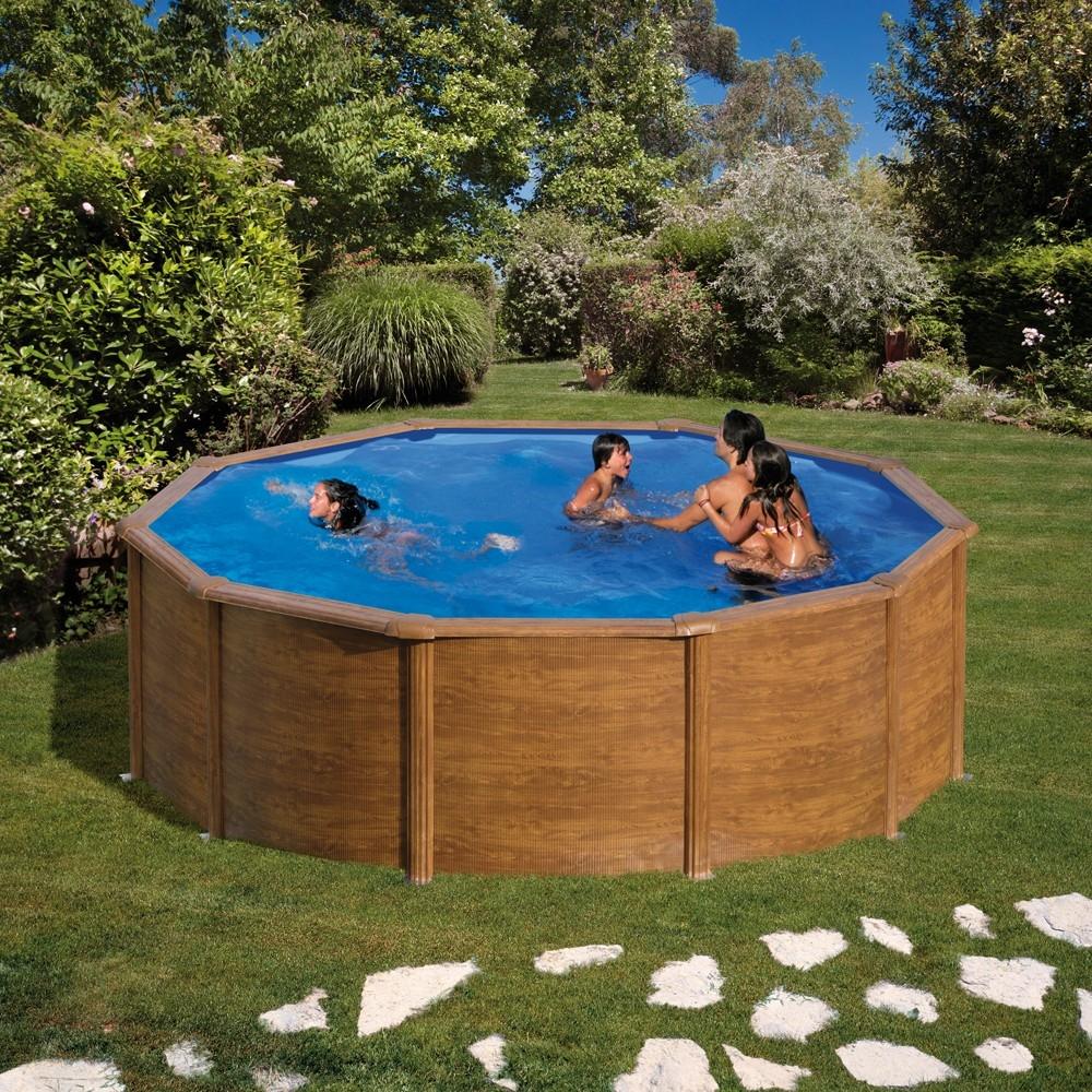 Piscine hors sol ronde gr mod le pacific for Piece de piscine hors sol