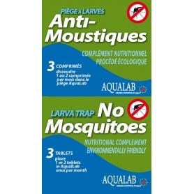 Recharge pour piège à larves AQUALAB
