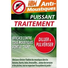 Traitement Anti-Moustiques 100 ml (15 ml offerts)