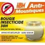 Bougie Anti Moustiques HBM 30h