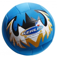 Ballon de volley néoprène SPORT (bleu, orange, noir)