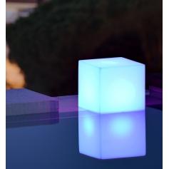 Cube lumineux CUBY 45 cm