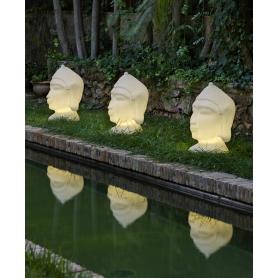 Tête de Bouddha lumineuse GOA 70 cm