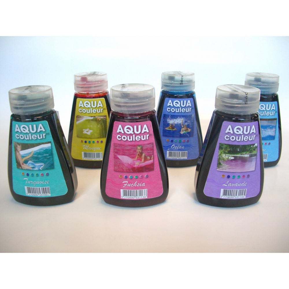 colorant piscine aquacouleur - Colorant Pour Piscine