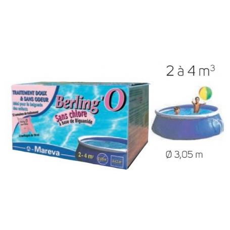 Traitement sans Chlore BERLING'O 2-4 m3