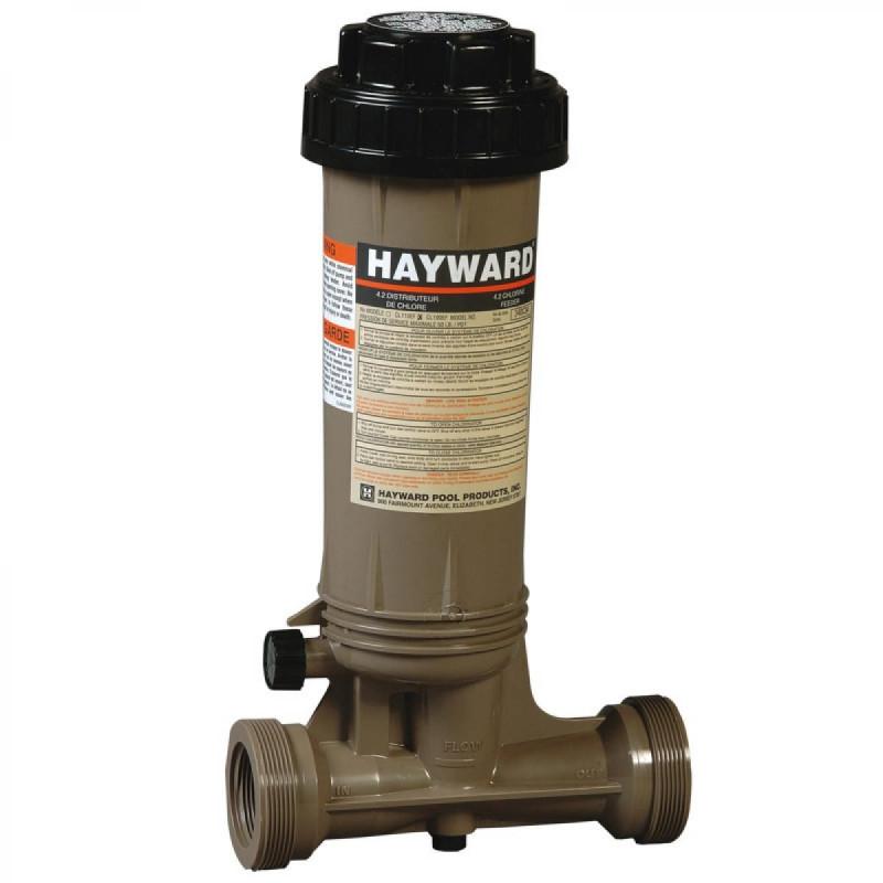 Chlorinateur HAYWARD 2,5 kg en ligne piscine jusqu'à 95 m3