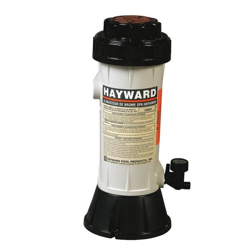 Brominateur HAYWARD 2,5 kg pour piscine jusqu'à 27 m3