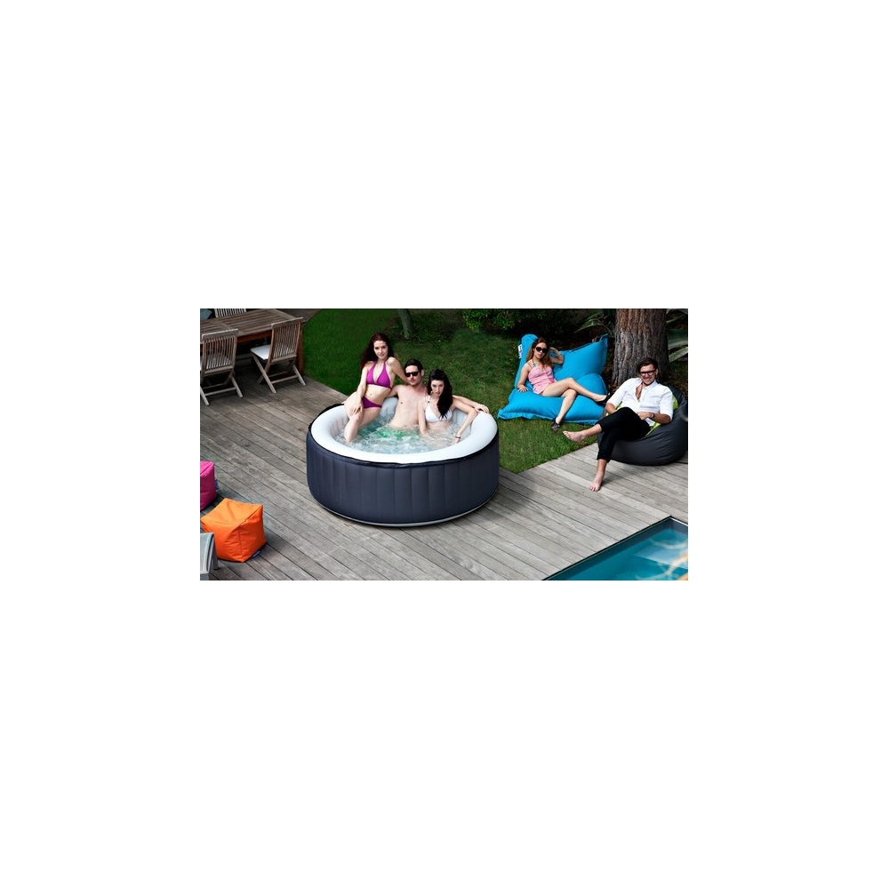 Spa gonflable spark 4 places for Piscine 4 places