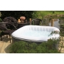 Spa gonflable Jacuzzi carré 2 places