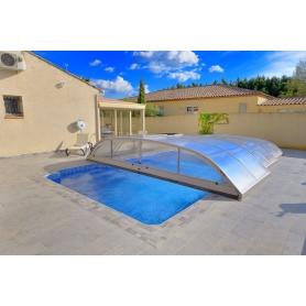 Abri Bas Télescopique piscine