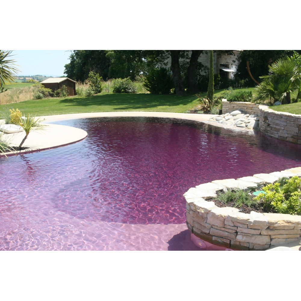 colorant piscine couleur lavande colorant aquacouleur pour piscines - Colorant Pour Piscine