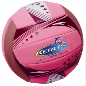 Ballon de volley néoprène rose Fluo