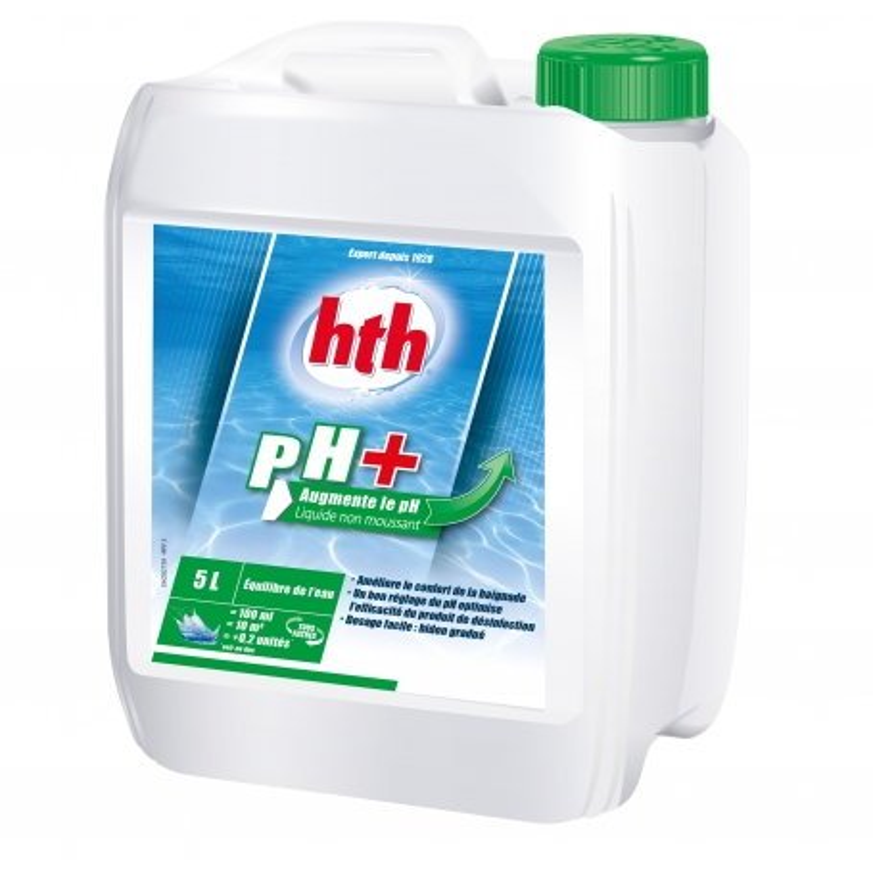 Correcteur pH PH PLUS liquide hth 5 l