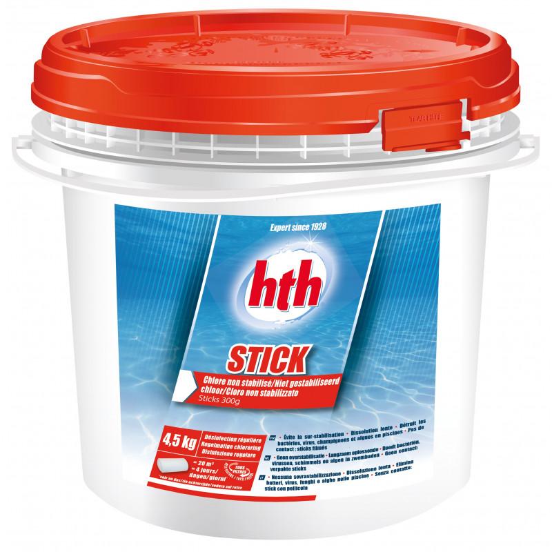 Désinfection régulière à base de chlore non stabilisé STICK hth
