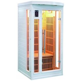 Sauna Infrarouge Soleil Blanc 1 Place
