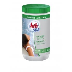 pH Moins en poudre HTH SPA