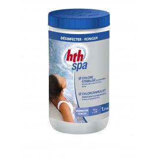 Chlore stabilisé pour spa en granulés HTH SPA