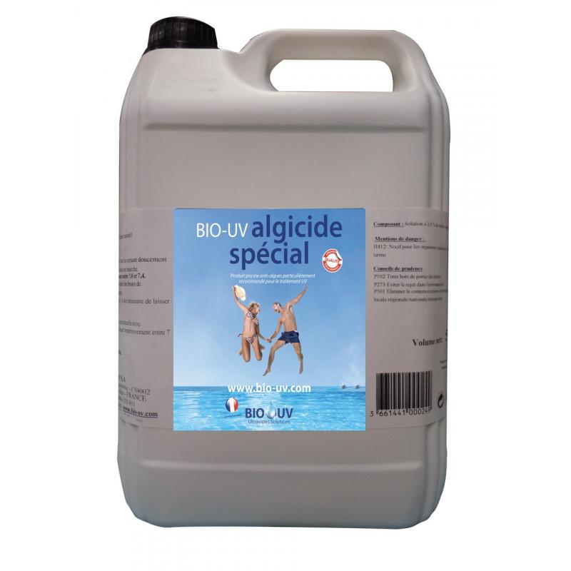 BIO-UV ALGICIDE Spécial pour traitement piscine UV