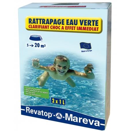 Traitement choc rattrapage eau verte for Eau verte piscine hors sol