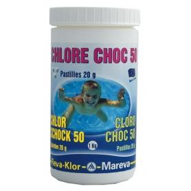 Traitement chlore REVA-KLOR Choc 50 1 kg - Mareva