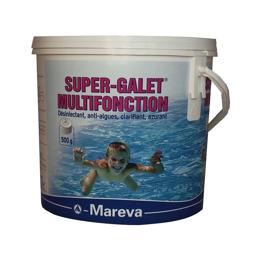 Super galets de chlore multifonction reva klor 500g - Pastille chlore piscine gonflable ...