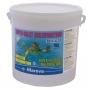 SUPER GALETS de chlore lent multifonction 500g 10 kg - Mareva