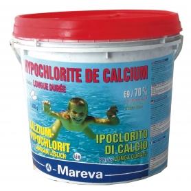 Désinfection piscine à base de chlore non stabilisé (hypochlorite de calcium) REVA-KLORIT en sticks