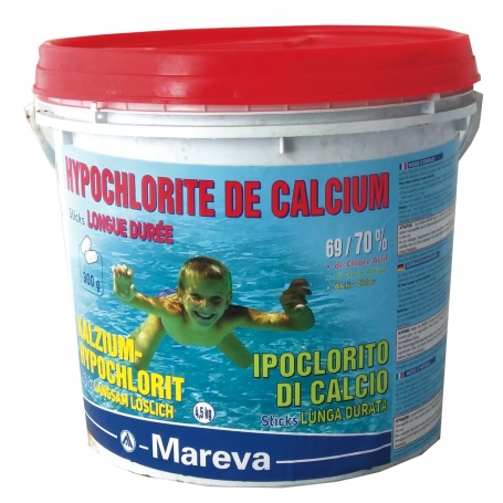 Hypochlorite de calcium REVA-KLORIT en sticks 4,5 kg