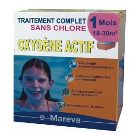 Kit Traitement à l'OXYGENE ACTIF et au TOP 3 - Mareva