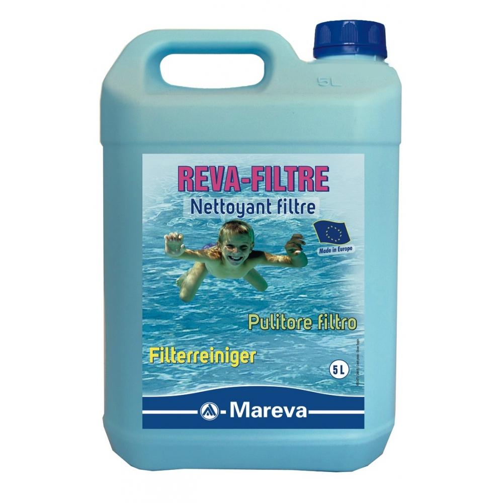 Nettoyant filtres reva filtre mareva for Filtre eau piscine