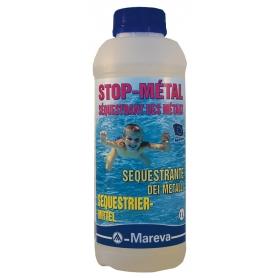 Sequestrant métaux piscine STOP METAL - Mareva
