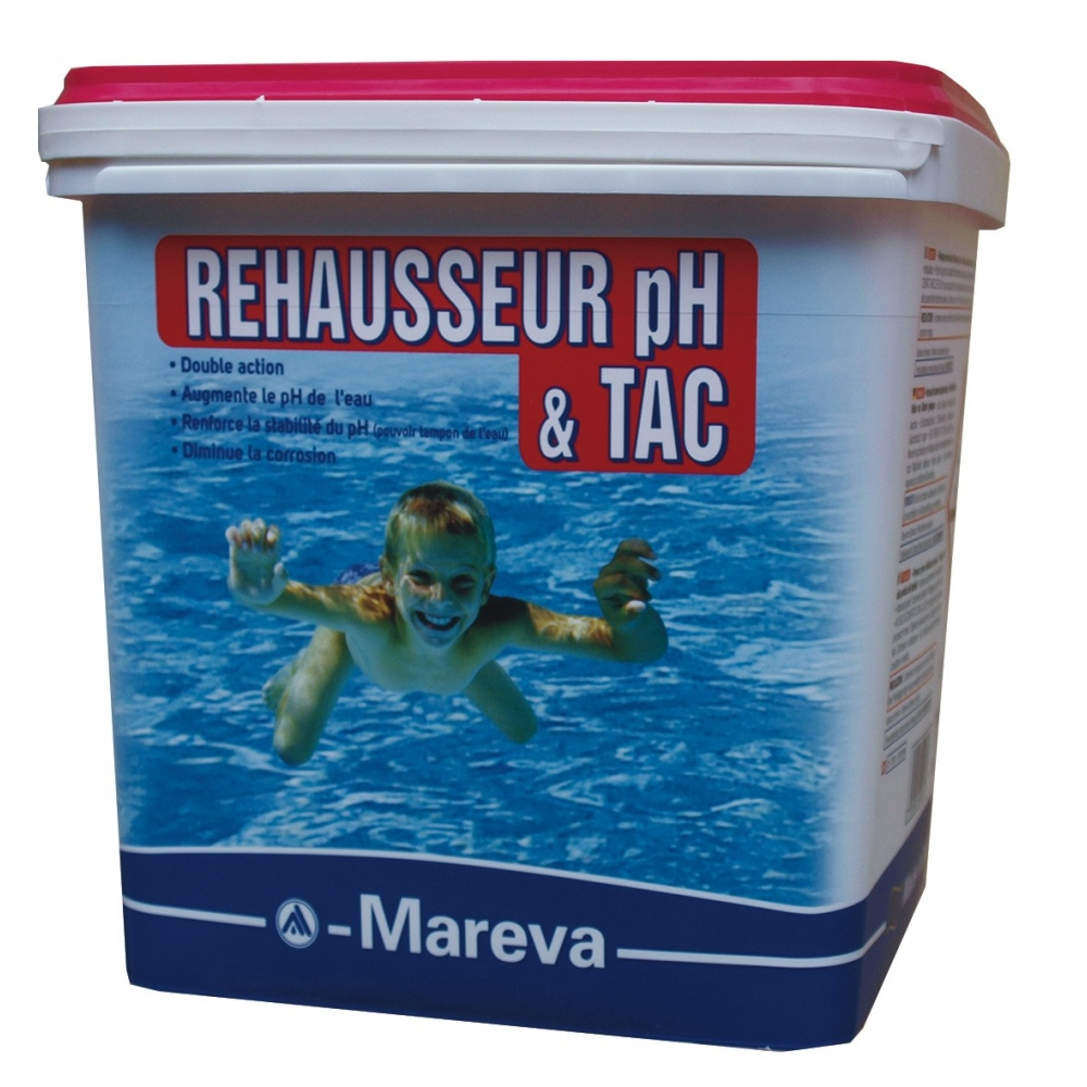 R hausseur de ph en poudre reva plus mareva for Produit piscine mareva