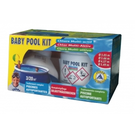 Kit BABY POOL traitement au chlore muti-actif - Mareva