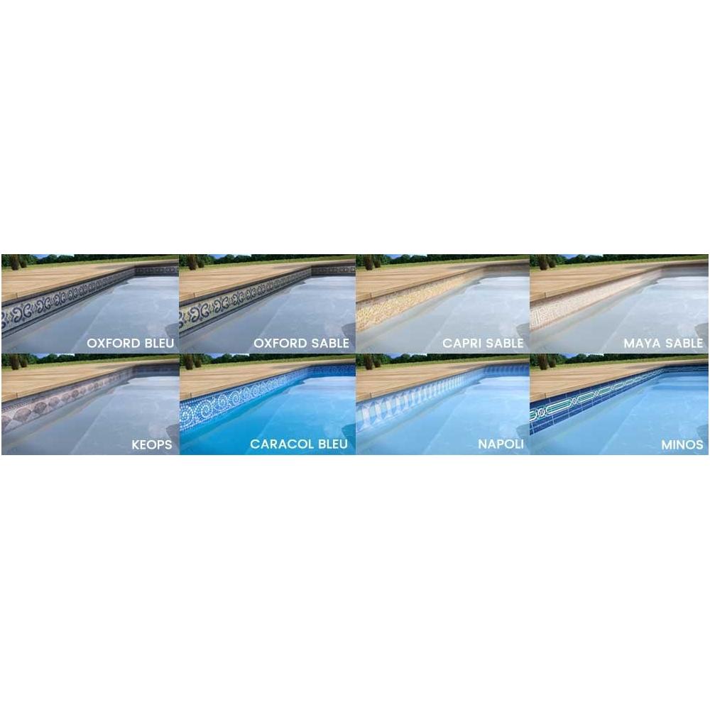 Liner piscine haut de gamme superliner 85 100 me - Piscine liner sable ...