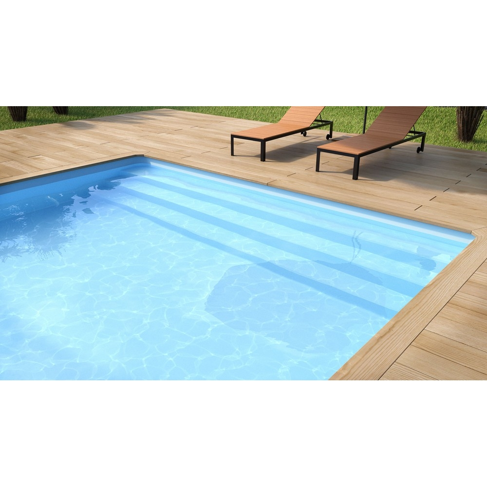 Liner piscine aqualiner 75 100 me for Liner blanc piscine