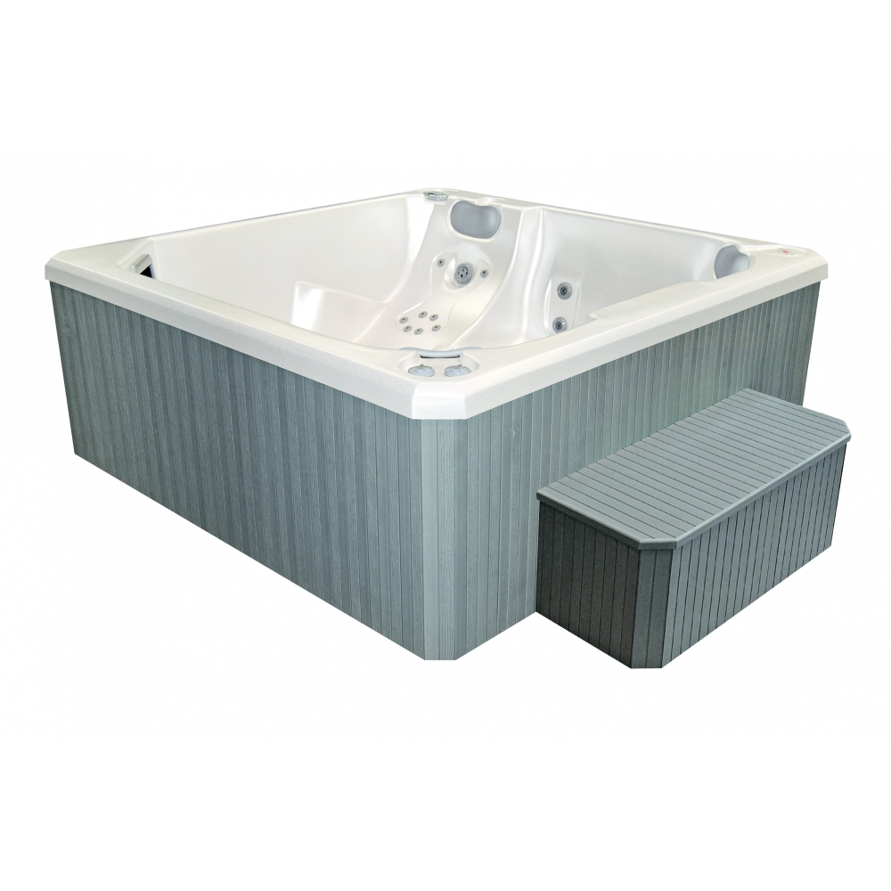 Spa portable antar s 5 places livraison offerte for Piscine transportable