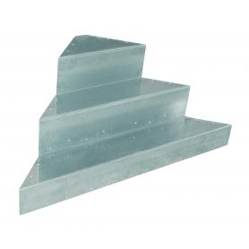 Escalier d'angle AQUASTEP pour piscine