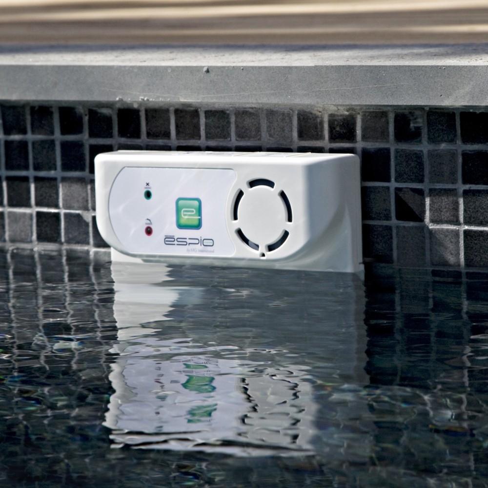 Alarme piscine espio sous margelle for Changer margelle piscine