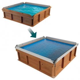 Kit Evolution margelles alu pour piscine PISTOCHE