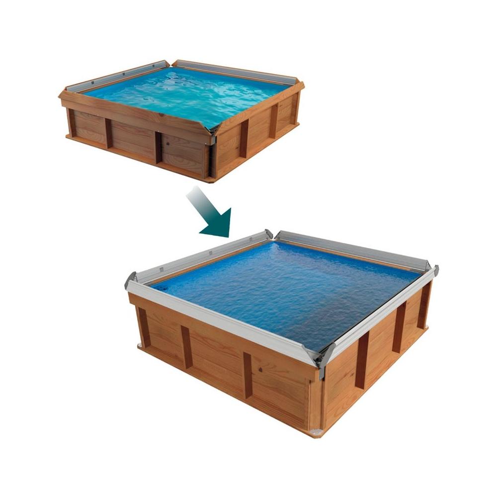 Kit evolution margelles alu pour piscine pistoche for Piscine pistoche