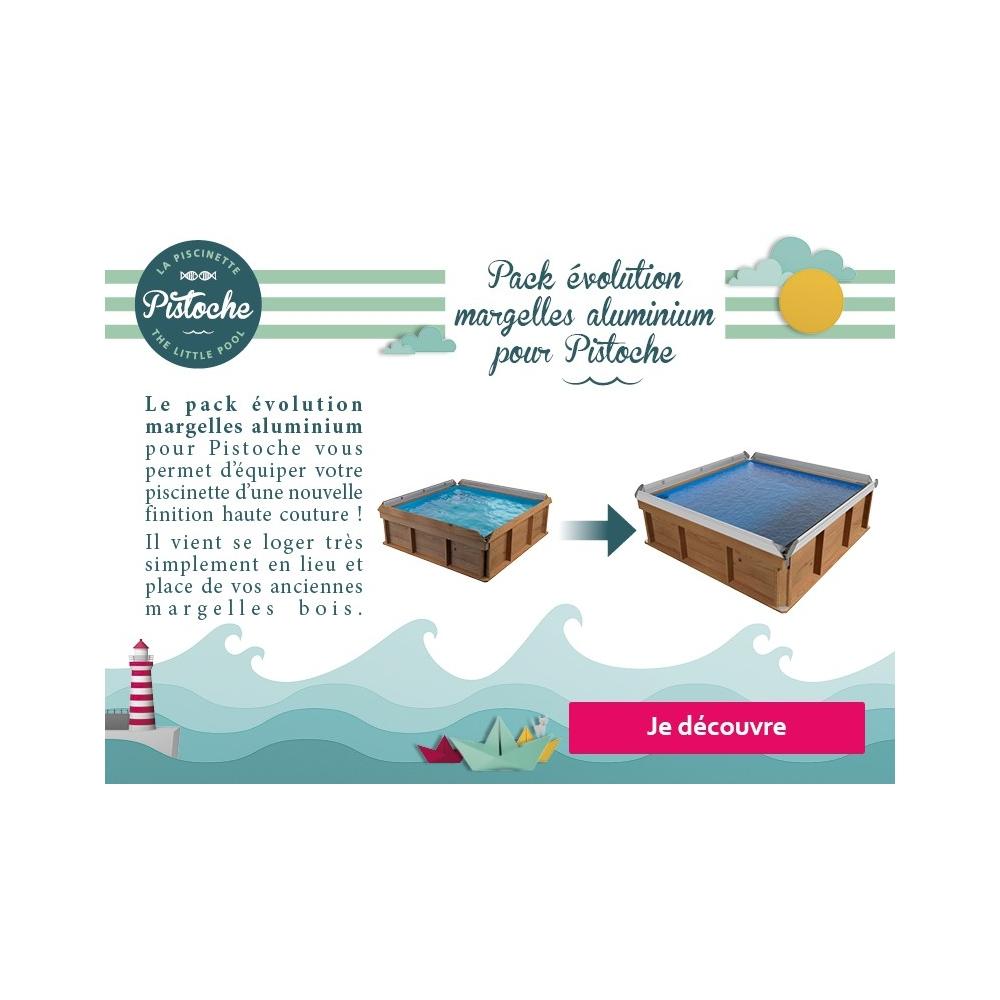 kit evolution margelles alu pour piscine pistoche. Black Bedroom Furniture Sets. Home Design Ideas