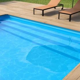 Liner 75/100ème pour piscine bois
