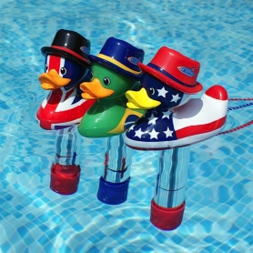 Mini thermomètre Duckies Flags