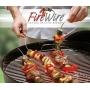 Brochette inox souple FIRE WIRE pour barbecue et plancha