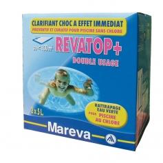 Rattraper une piscine verte avec revatop de mareva for Piscine verte traitement choc